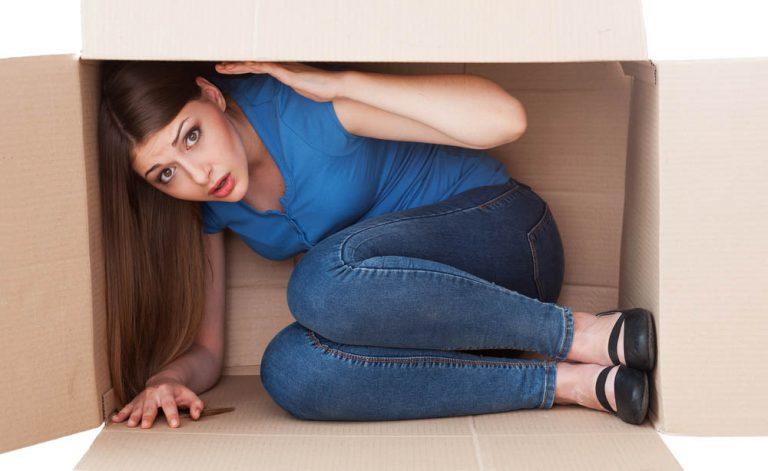Por que você é claustrofóbico?